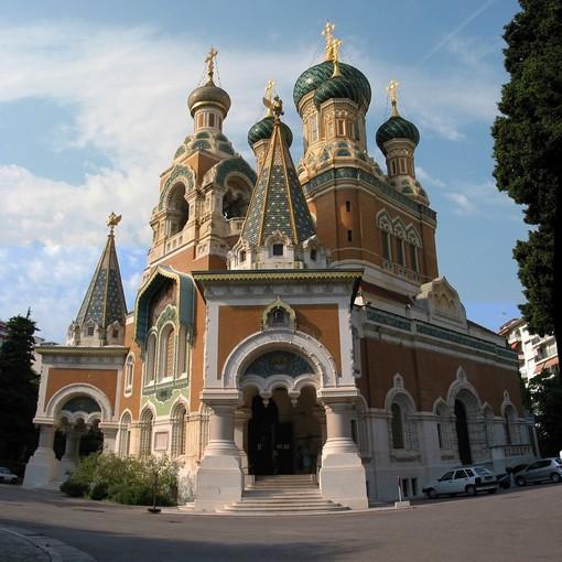 La Cattedrale Ordodossa Russa di Nizza