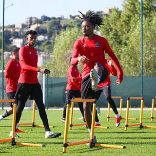 Il Nizza si prepara ad affrontare l'Angers (foto tratta dal sito dell'OGC Nice)