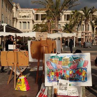 Place Gautier nel Vieux Nice, foto di Ghjuvan Pasquale