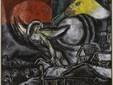 Marc Chagall Les Pâques, 1968 Huile sur toile, 160,3 x 159,5 cm Centre Pompidou, Paris, Musée national d'art moderne Centre de création industrielle, dation, 1988, dépôt au Musée Chagall, Nice © ADAGP, Paris, 2021 Photo © Centre Pompidou, Mnam