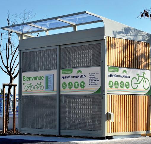 Box movibili destinati a parcheggi temporanei per biciclette