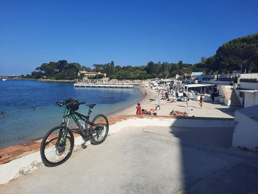 Plage de la Garoupe, Cap d'Antibes - Fotografie di Danilo Radaelli