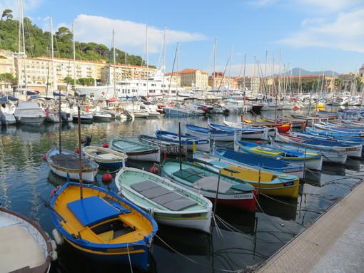 I pointus nel porto di Nizza
