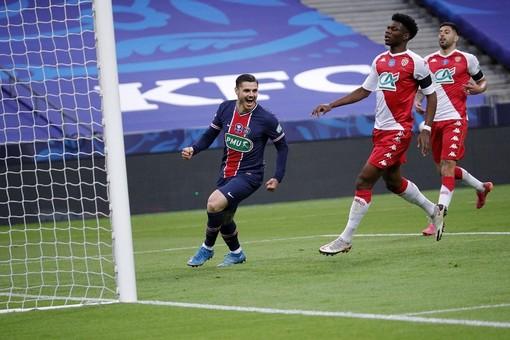 Paris Saint Germain - Monaco, una fase della finale di Coppa di Francia (foto tratta dal sito del PSG)
