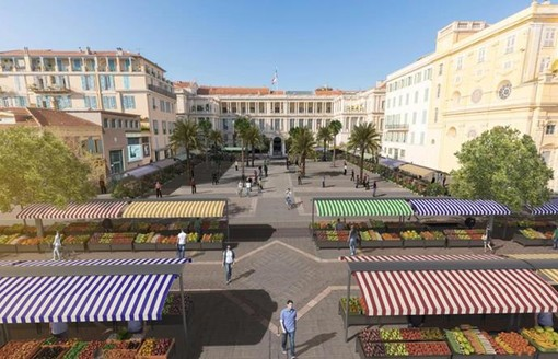 Place Pierre Gautier, Nizza
