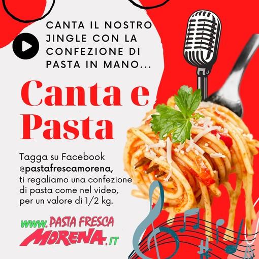 """""""Canta e pasta"""" un breve motivo musicale per avere in regalo una confezione di Pasta Fresca Morena"""