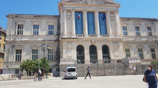Il Palazzo di Giustizia di Nizza in una foto di Ghjuvan Pasquale