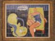 Henri Matisse Danseuse dans le fauteuil jaune, chaise vénitienne Huile sur toile, 50 x 65 cm Collection particulière © Succession H. Matisse Photo ©