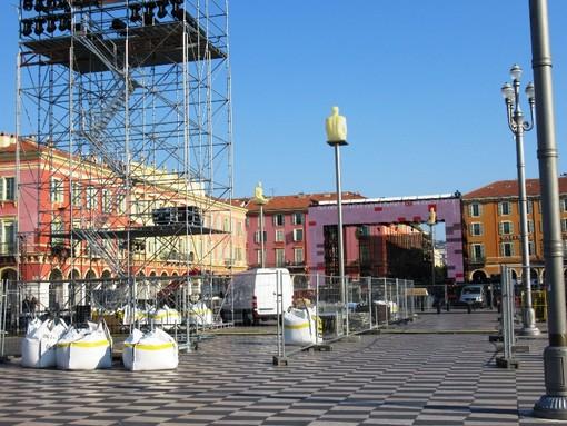 Place Massena, i lavori in previsione della Fête de la Musique