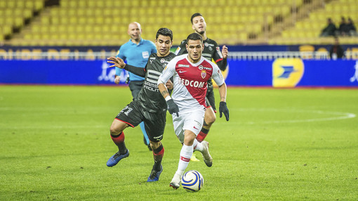 Rony Lopes con la maglia del Monaco (foto tratta dal sito dell'AS Monaco)