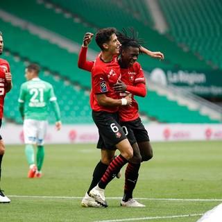 Rennes, capolista della Ligue 1 (foto tratta dal sito del Rennes)