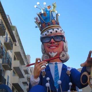 Roi de la Mode, il re del Carnevale 2020 di Nizza in Rue Richelmi dove é stato realizzato