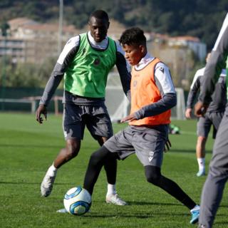 Ripresa degli allenamenti per il Nizza (foto tratta dal sito dell'OGC Nice)