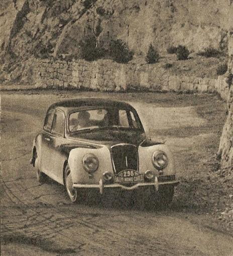 Foto d'epoca, il Rally di Monte-Carlo edizione 1953