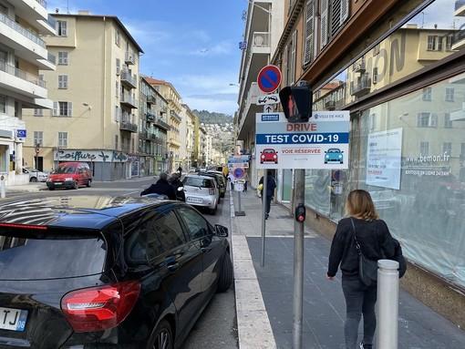 Test covid 19 in Rue Barla a Nizza
