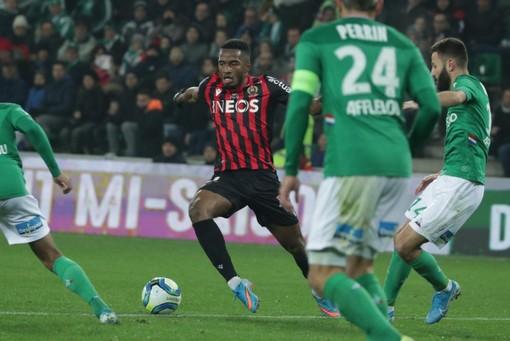 Saint Etienne - Nice, una fase di gioco (foto tratta dal sito dell'OGC Nice)