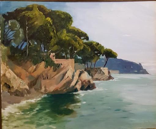 "Steve Tavitian alla galleria ""Lou Babazouk"" di Nizza"