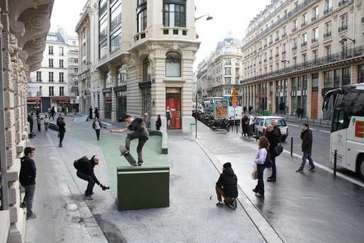 """Il Forum d'Urbanisme et d'Architecture propone la mostra  """"Skateville"""""""
