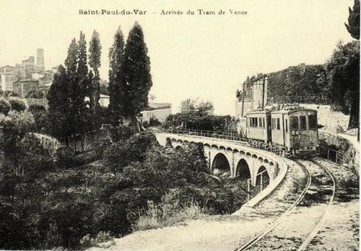 Saint Paul de Vence, tram