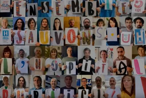 """""""Soigner encor"""", un video degli infermieri di Nizza e Rennes diventa virale con centinaia di migliaia di visioni"""