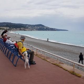 Spiagge di Nizza all'epoca della pandemia, foto di Ghjuvan Pasquale