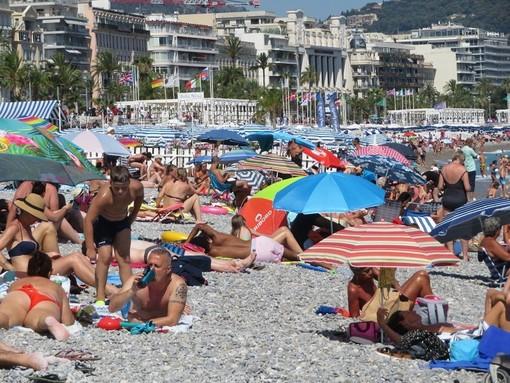 Spiaggia di Nizza domenica 11 luglio 2021