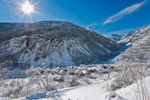 La stazione di sport invernali di Saint Dalmas le Selvage