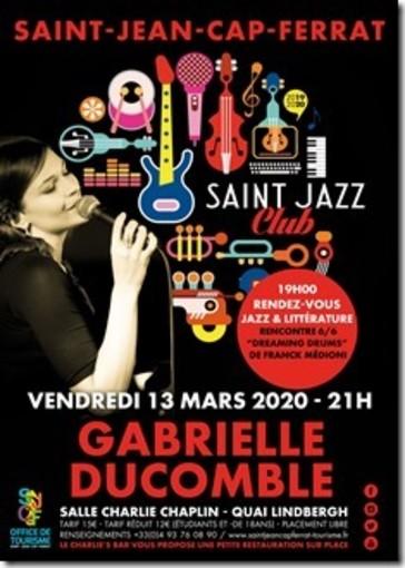 Gabrielle Ducomble, giovane portento belga della canzone, di scena a Saint Jean Cap Ferrat