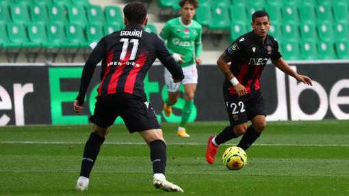 Saint Etienne - Nizza, una fase di gioco (foto tratta dal sito dell'OGC Nice)