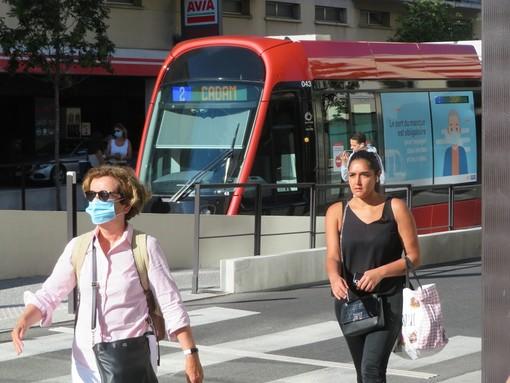 Tram, ligne 2 a Nizza