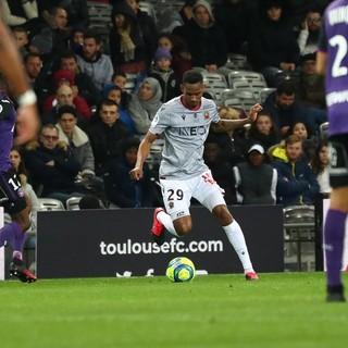 Tolosa - Nizza, una fase di gioco (foto tratta dal sito dell'OGC Nice)