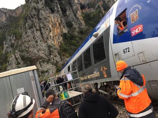 Il treno in Valle Roya