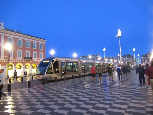 Place Massena a Nizza