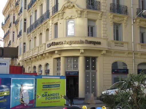 La sede dell'UBI a Nizza in una foto di archivio