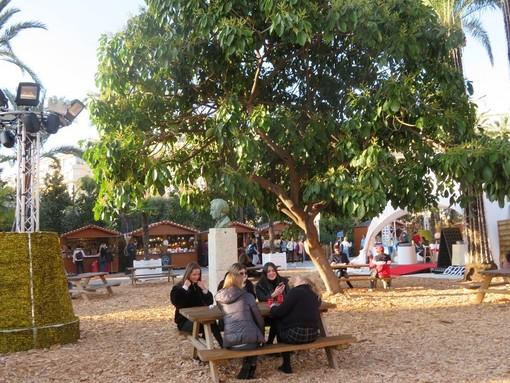 Villaggio di Natale a Nizza lo scorso anno