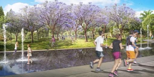Come si presenterà il Grand Parc de l'Ouest (© Ville de Nice