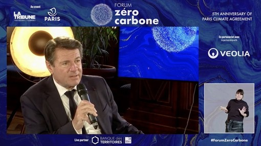 Christian Estrosi al Forum Zéro Carbone