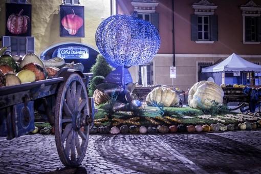 Zucca in piazza, a Piozzo (Cuneo) nel weekend i produttori locali con le zucche e prodotti tipici
