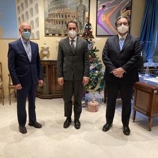 Principato di Monaco strategico per la Liguria: incontro all'Ambasciata con Confesercenti