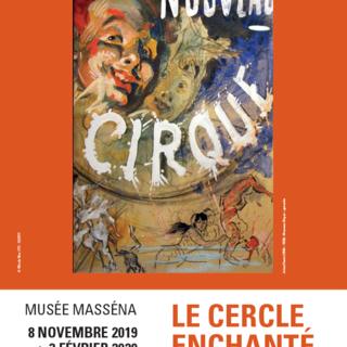 Il manifesto della mostra - Jules Cheret (1836 - 1932) Nouveau Cirque