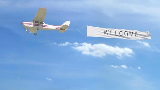 Stop alla pubblicità mediante gli aerei, finisce un'epoca in Francia