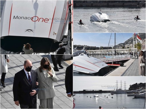 Varato 'Monaco One', il catamarano veloce che collegherà il porto di Ventimiglia con quello di Monte-Carlo