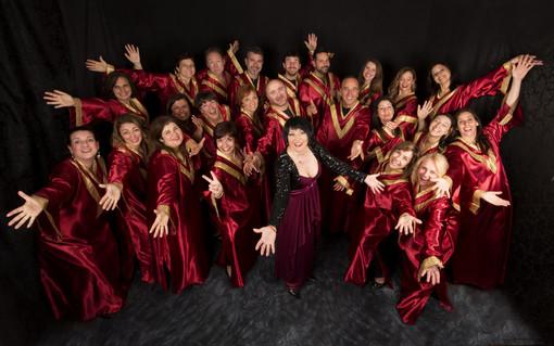 Concerto di musica gospel per l'inaugurazione del presepe dell'Eglise st.Charles a Monaco