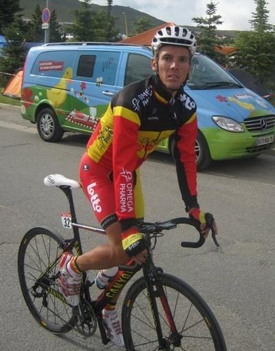 Sportel 2012. Philippe Gilbert: «In Italia mi alleno spesso sulla salita di Bajardo»