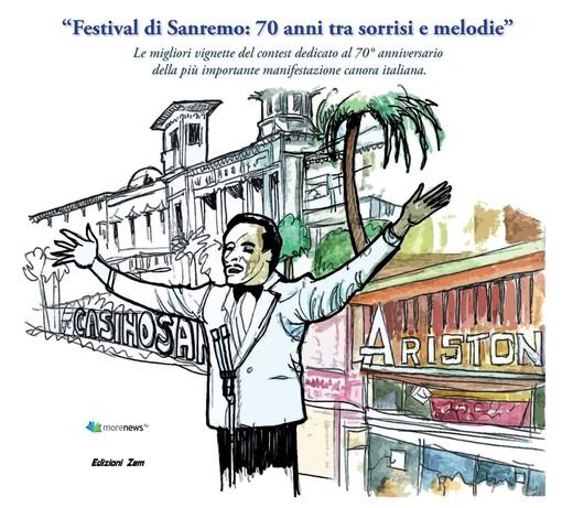 Athos Careghi e Agostino Longo sono i vincitori delle due sezioni del contest dedicato al 70° anniversario del Festival di Sanremo