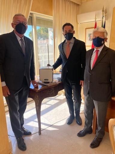 """Un """"CUBE"""" anti-covid per l'Ambasciata d'Italia nel Principato di Monaco"""