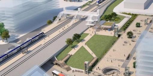 La nuova stazione di Saint Augustin a Nizza