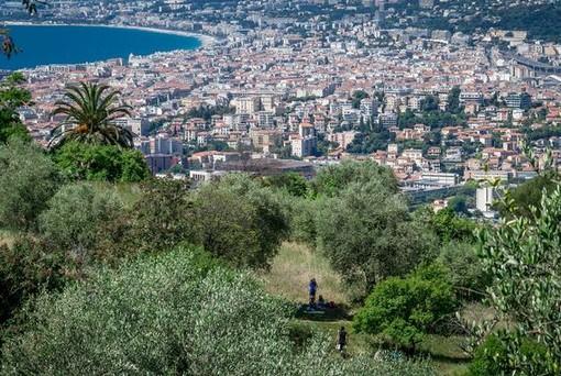 Panorama di Nizza dal Parc du Vinaigrier