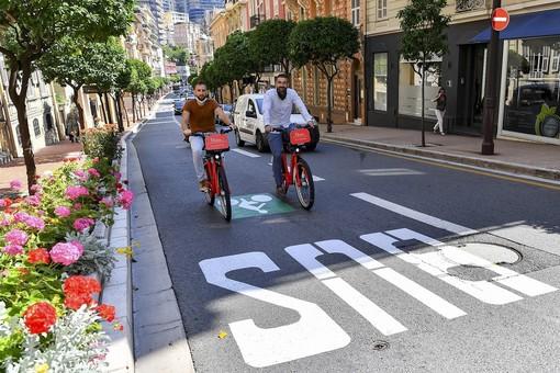 Bici: nuova pista ciclabile tra Fontvieille e Port Hercule e 3 nuove stazioni Monabike