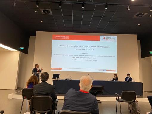 """L'equipe genovese del """"simulatore informatico"""" presenta il progetto al quarto Forum sulla salute 2020 di Bari"""